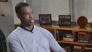 NBA player Jason Collins