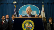 SACRAMENTO -- Gov. Jerry Brown on Wednesday signed legislation aimed at taking handguns and assault rifles away from 20,000 Californians who acquired them legally but have since been disqualified from ownership because of a criminal conviction or serious mental illness.