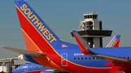 Southwest Airlines was fined $150,000 Wednesday for failing to respond to consumer complaints in a timely fashion, the Department of Transportation announced.