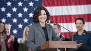 """Veep"", HBO's comedy starring Julia Louis-Dreyfus as a fictional U.S. vice president, has been awarded a third term -- er, season."