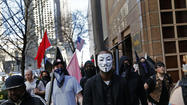 Several thousand demonstrators marched through downtown Chicago on Wednesday, banging drums and chanting loudly in support of comprehensive federal immigration reforms that many think could be passed by Congress this year.