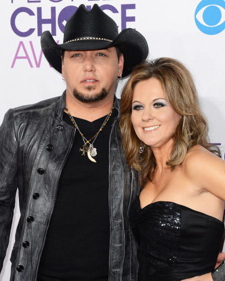 2013 Celebrity Splits: Country singer Jason Aldean filed for divorce from his high school sweetheart, Jessica Ussery, months after he was caught on-camera cheating with an American Idol reject.