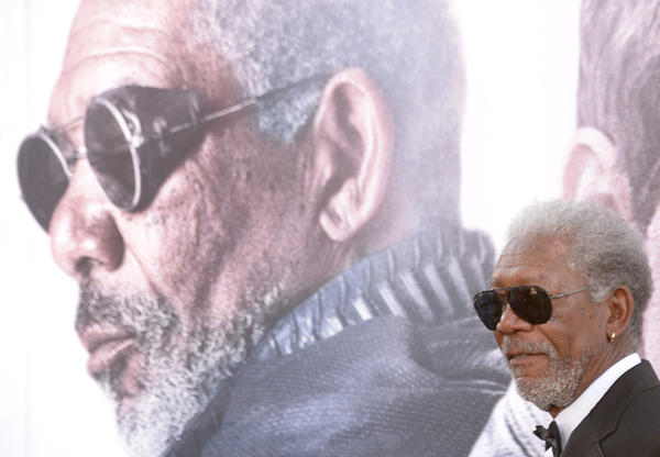 "Actor Morgan Freeman made an appearance on the ""Ask Me Anything"" section of the website Reddit in early April to promote his film ""Oblivion."""