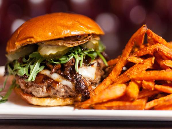 The new May burger at 25 Degrees