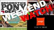 Weekend Watch: Harvest Festival, Snap! Orlando, Broomstick Pony Derby