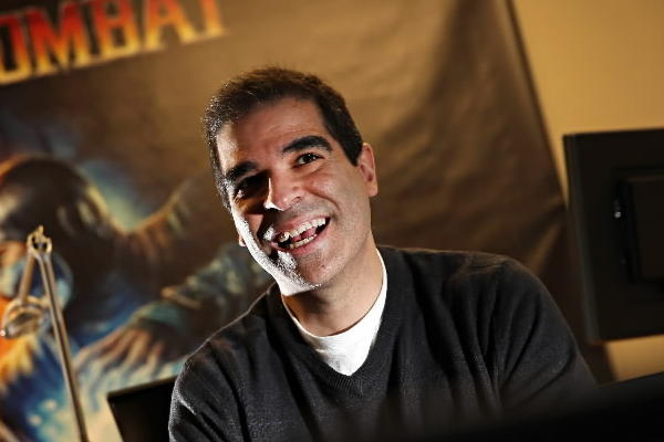 "Ed Boon, the creator of Mortal Kombat, plays his the new DC Comics-themed ""Injustice: Gods Among Us."""