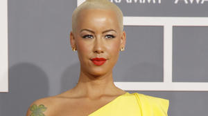 Amber Rose explains shift from at-home water birth to C-section