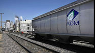 Archer Daniels Midland Co. on Wednesday reported net earnings of $269 million, or 41 cents a share, for the first quarter ended March 31. That was down from $399 million, or 60 cents a share, for a year earlier.