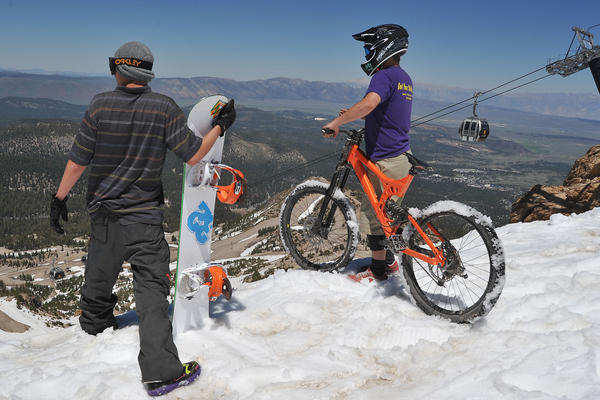 Mammoth Mountain Ski Area will be open Memorial Day weekend for skiing and boarding, mountain bicycling and golfing.