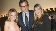 "Bob Saget, Candace Cameron Bure and Jodie Sweetin had a mini-""Full House"" Tanner family reunion at a research benefit Tuesday."