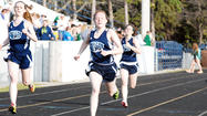 The Petoskey High School boys' and girls' track and field teams each collected five first place finishes Tuesday during a dual meet with Traverse City West at Curtis Field.