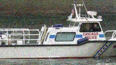 A Chicago Police Marine Unit boat in 2003.