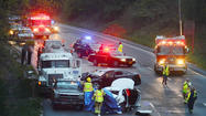 A 12-year-old girl who was injured in a traffic accident that killed her father Tuesday on Interstate 70 near the Washington-Frederick county line has been discharged from Children's National Medical Center in Washington, D.C., a hospital spokeswoman said Wednesday night.