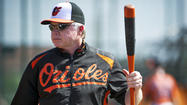 Few Americans are on the road more than the manager of a major league baseball team. But Buck Showalter, the Orioles' famously persevering manager, rarely stays put even in the offseason, when he's canvassing the country for new talent. After all, being stagnant would never have earned him two American League Manager of the Year awards or helped him turn around the Orioles' 14-year stretch of losing seasons.