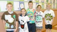 St. Bede students mark Earth Day