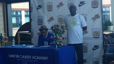 Boys hoops | Jabari Parker signs with Duke