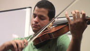 VIDEO: El Centro resident Esteban Corona plays viola