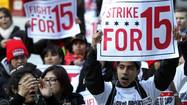 "When the Workers Organizing Committee of Chicago initiated last week's strikes at the city's fast-food and retail outlets, the protesters rallied around the cry ""Fight for $15"" — that is, a minimum wage that's almost double Illinois' current $8.25."