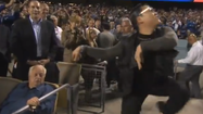 "Watch: Dodgers Tommy Lasorda isn't a fan of 'Gangnam Style's"" Psy"