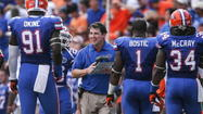 Coach Will Muschamp can joke about it now, but this time last year Gator Nation was a much tougher audience than this time around.