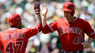 — The Angels have sweat out harrowing late-inning moments in most of their 10 victories this season, but they could have made things a lot easier on themselves Wednesday had they not run into two outs on the bases in the eighth inning.