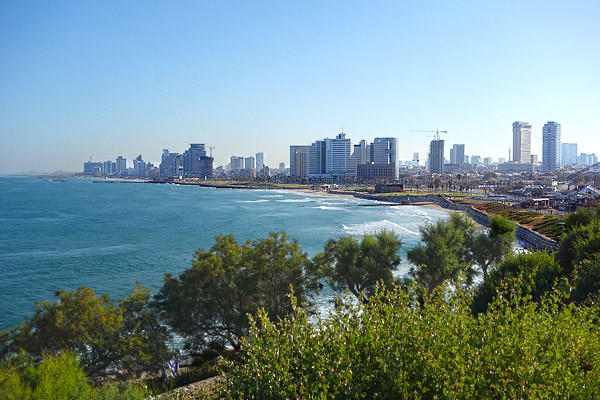 In 1908 Tel Aviv was just a big sand dune. Born in 1909, the city today feels like San Diego. Of the almost eight million people in the country, more than three million live in the greater Tel Aviv area. The relative prosperity among Israel and its neighbors is striking. Wa
