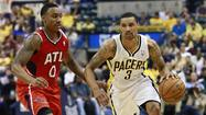 INDIANAPOLIS -- Home court is still holding serve with the Indiana Pacers and Atlanta Hawks.