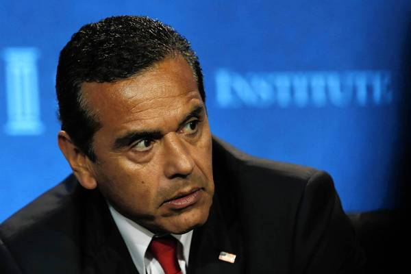 Antonio Villaraigosa set aside $21 million in his final budget as Los Angeles mayor to perhaps cover a 5.5% raise for city workers.