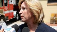 The alliance between Los Angeles mayoral candidate Wendy Greuel and the Department of Water and Power workforce strengthened Wednesday as a committee run by leaders of the utility's main union launched TV advertising to buttress her candidacy just as she reduces her own spending on television ads.