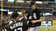 ARLINGTON, Texas. -- Chris Sale turned a second-inning crisis into a turning point Wednesday night as the Chicago White Sox pulled away to a 5-2 win at Texas.