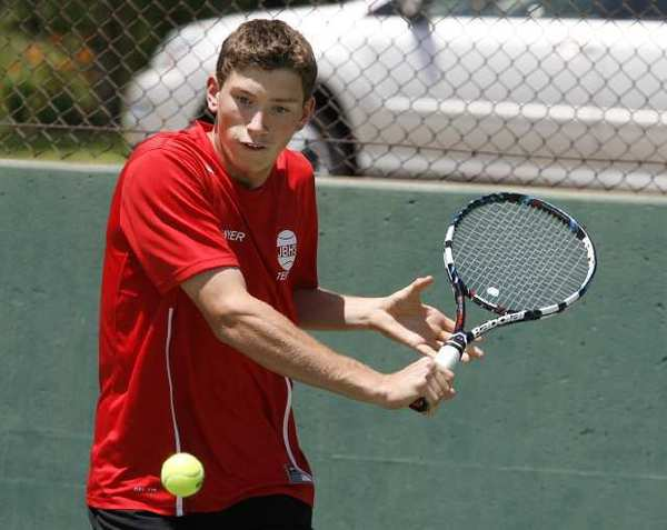 Burroughs' Sawyer Patterson won the Pacific League singles title.