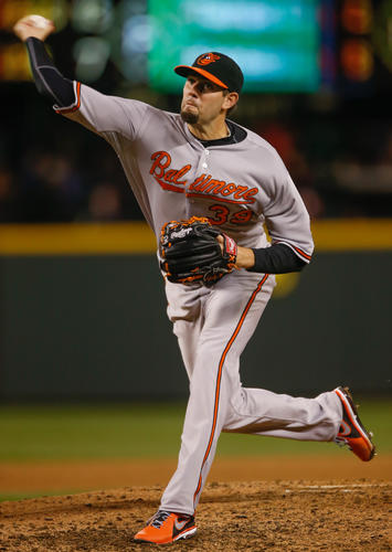 There has been a lot of speculation about the inability of Orioles starting pitchers to go deep enough into games during the first month of the season, but a cursory look back over the course of April reveals that endurance was not the real issue. It's true that last year's starters averaged more innings per start, but the difference between 2012 and 2013 was not that significant. Last year's rotation averaged 6.04 innings per start. This year's averaged 5.72 innings, or an average of about a third of an inning per game. The issue was effectiveness. The 2012 rotation pitched to a 3.63 ERA, allowing nearly a run per game less than this April's 4.55 ERA. Throw in a 20 percent increase in walks per 9 innings and the mystery is solved.