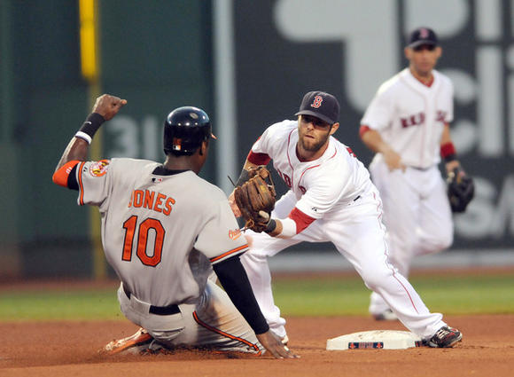 Adam Jones, Dustin Pedroia