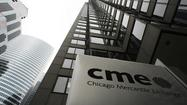 First-quarter profit at Chicago-based exchange operator CME Group Inc. fell 11.6 percent from a year ago amid a slump in trading in some of its more lucrative products, the company reported Thurday.