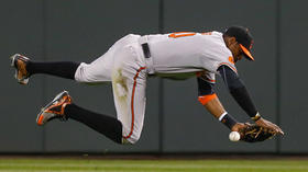 Adam Jones' adventures in the Orioles' outfield continue