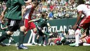 PORTLAND, Ore. (AP) - After missing his team's final soccer match last season because of cancer treatment, 8-year-old Atticus Lane-Dupre made sure his teammates were in on his wish to scrimmage against the Portland Timbers.