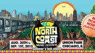 North Coast Music Festival 2013 lineup announced
