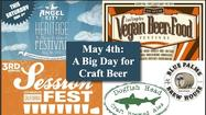 Dust off your drinking cap; you're going to need it for all the craft beer events planned for this Saturday, May 4. Whether you want to drink beers from a renowned out-of-state brewery, try creative low-alcohol brews, take in some art and music with your craft beer, or party with all your vegan friends, there will be a craft beer event for you this weekend: