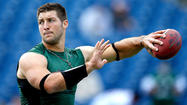 Free-agent quarterback Tim Tebow wouldn't succeed in the Canadian Football League because of a weak throwing arm, Hall of Famer Warren Moon told radio station KILT-AM in Houston.