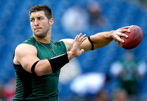 Tim Tebow is a free agent after being released this week by the Jets.