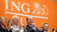 CEO of ING U.S. rings the Opening Bell in celebration of their IPO