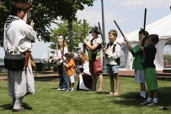 Pirate groups representing the seafaring life in the late 17th and early 18th centuries will entertain and educate in Historic Yorktown.