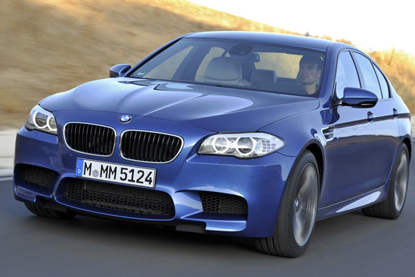 "Joe Bruzek of Cars.com writes: BMW's M5 is blazingly fast. This four-door ""family sedan"" with 560 horsepower and insane acceleration rivals the thrill of most dedicated, two-door sports cars. Channeling the M5's tremendous power is a six-speed manual transmission, which high-horsepower super-sedans like Mercedes' E63 AMG and CLS63 AMG and the Audi S6 don't offer."
