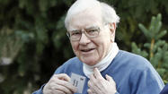 Billionaire investor Warren Buffett, who famously sat out the technology bubble of the late 1990s because he said he didn't understand the companies, set up his first Twitter account Thursday.