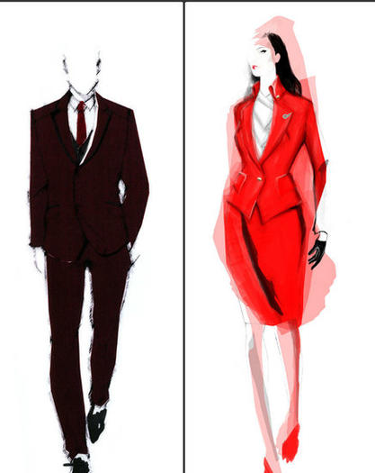 Vivienne Westwood designs new Virgin Atlantic uniforms