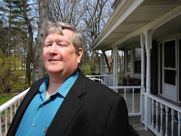 William Waldack, seen at a Senior Home Sharing residence, is leaving the Downers Grove Village Council after two terms.