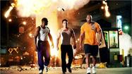 """Pain & Gain"" is loosely based on a true story of bodybuilders gone wild on steroids and cocaine. Mark Wahlberg, Dwayne Johnson and Anthony Mackie play the buffed anti-heroes who embark on a bizarre plot of kidnapping for ransom. Operating in the dark recesses of Miami society, they target unsavory wealthy victims with gruesome purpose and consequences."