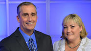 New Intel CEO Brian Krzanich and President Renée James