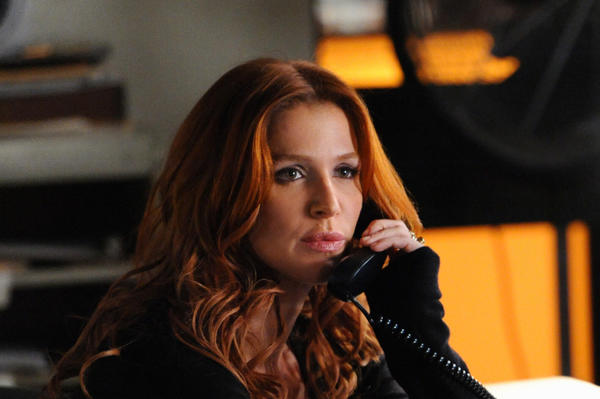 "Carrie (Poppy Montgomery) hunts for a sniper who repeatedly calls to taunt her and seems to have detailed knowledge of her memory abilities, on ""Unforgettable""."