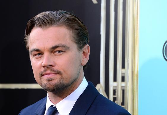 Actor Leonardo DiCaprio.